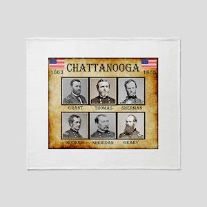 Chattanooga - Union Throw Blanket