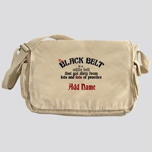 The Black Belt is Messenger Bag