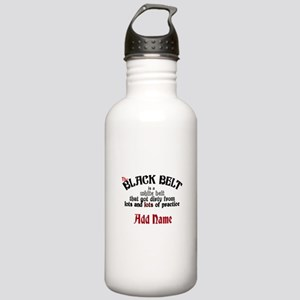 The Black Belt is Stainless Water Bottle 1.0L