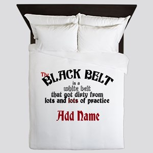 The Black Belt is Queen Duvet
