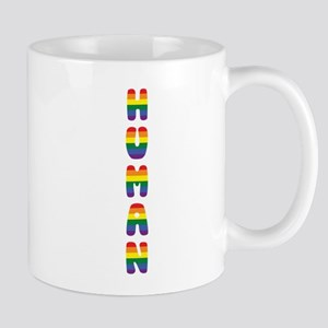 Human, Gay Pride Mugs