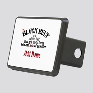 The Black Belt is Rectangular Hitch Cover