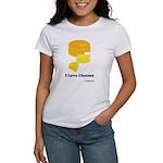 I Love Cheeses Women's T-Shirt