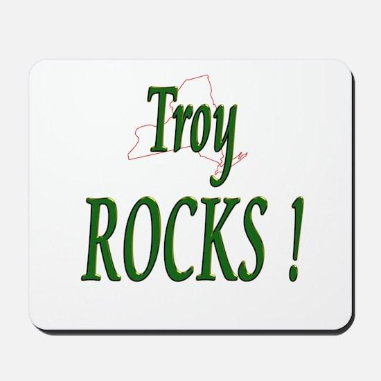 Troy Rocks ! Mousepad