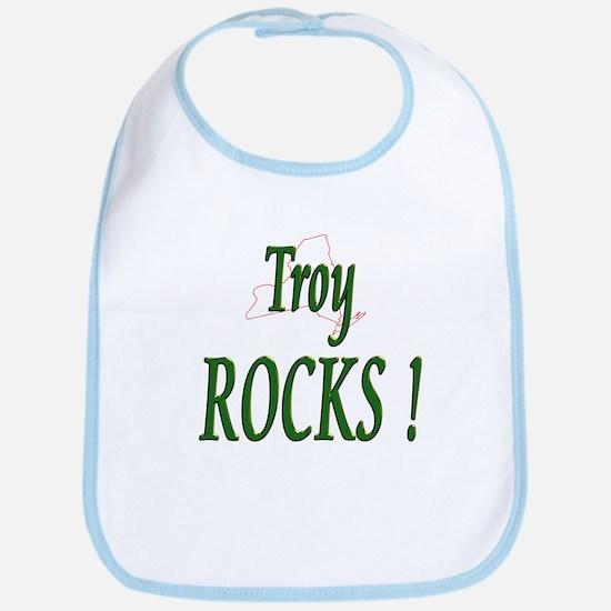 Troy Rocks ! Bib