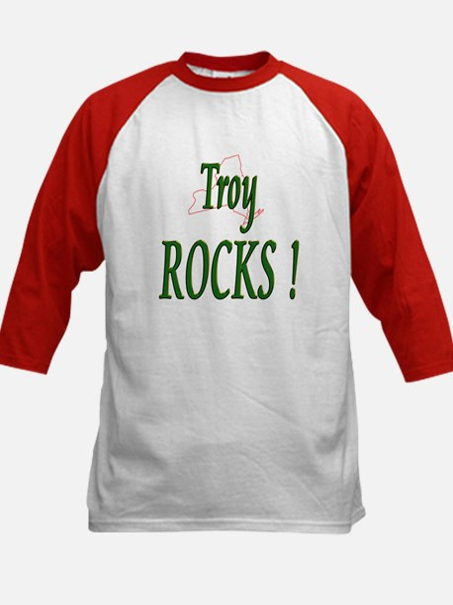 Troy Rocks ! Kids Baseball Jersey