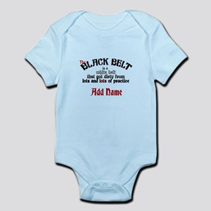 The Black Belt is Infant Bodysuit