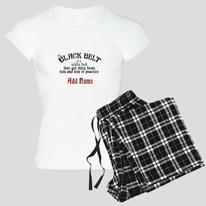 The Black Belt is Women's Light Pajamas