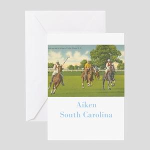 Aiken Polo Greeting Card