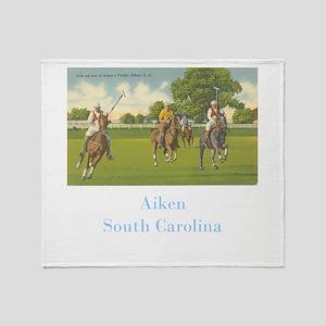 Aiken Polo Throw Blanket