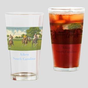 Aiken Polo Drinking Glass