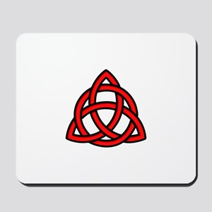Celtic Knot Red Mousepad