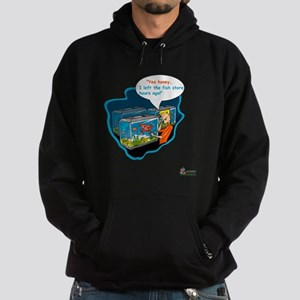 LTR - Left The Fish Store Hours Ago! Hoodie (dark)