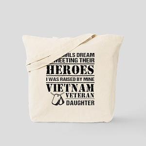 Vietnam Veteran Daughter Tote Bag