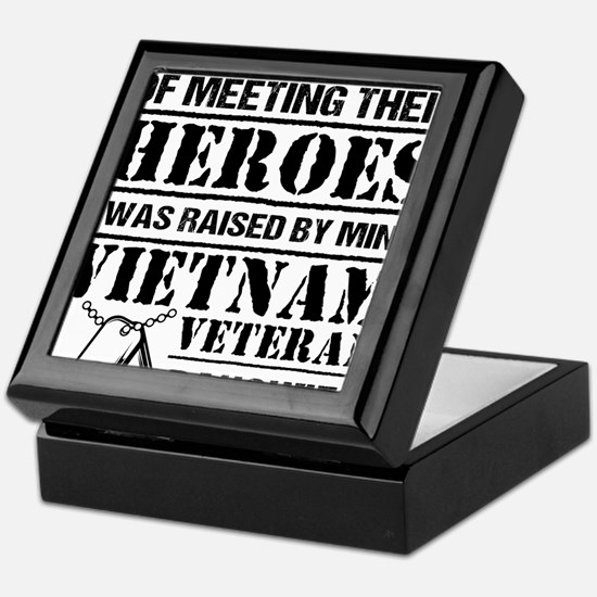 Vietnam Veteran Daughter Keepsake Box
