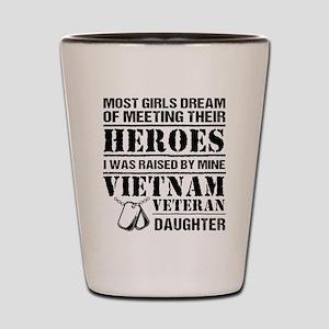 Vietnam Veteran Daughter Shot Glass