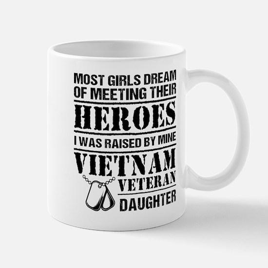 Vietnam Veteran Daughter Mugs