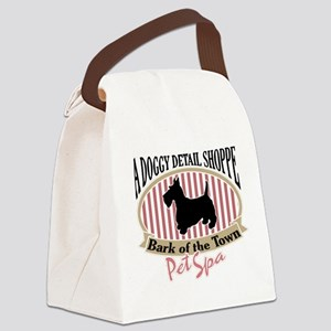 Bark of the Town Canvas Lunch Bag
