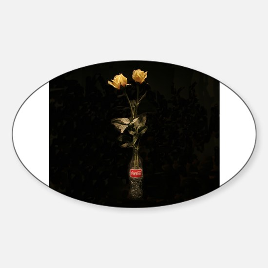 "Yellow Roses 3"" Lapel Decal (48 pk) Decal"