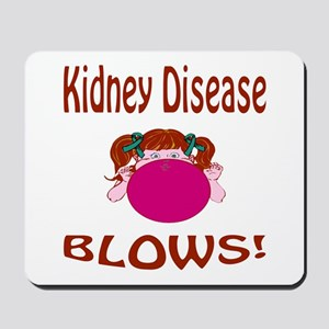 Kidney Disease Blows! Mousepad