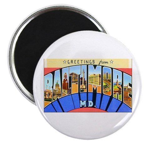 Baltimore Maryland Magnet