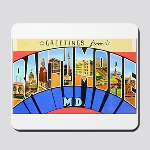 Baltimore Maryland Mousepad