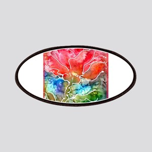 Flower! Bright floral art! Patches