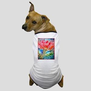 Flower! Bright floral art! Dog T-Shirt