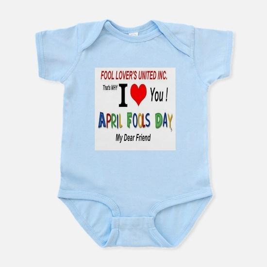 April Fool Friend Infant Bodysuit