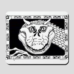 Grinning Dragon Mousepad