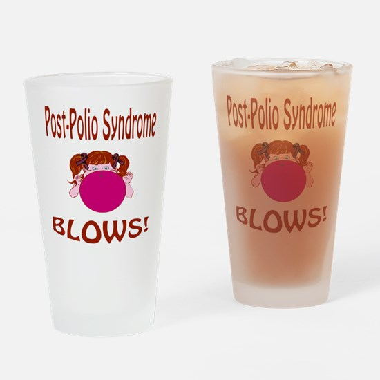 Post-Polio Syndrome Blows! Drinking Glass