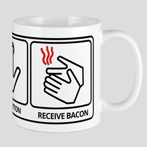 Push button! Mug