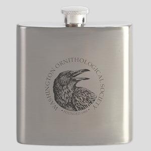 Washington Ornithological Society (WOS) Flask