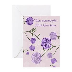 85th birthday greeting cards cafepress m4hsunfo