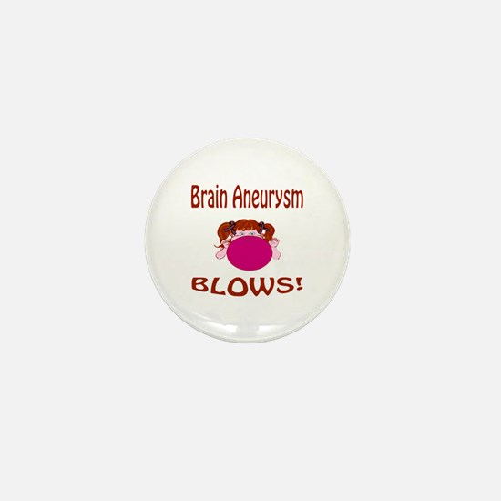 Brain Aneurysm Blows! Mini Button