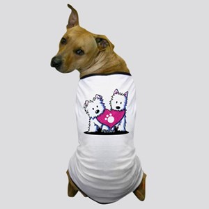 Valentine Westies Dog T-Shirt