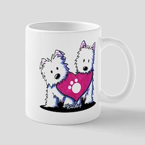 Valentine Westies Mug