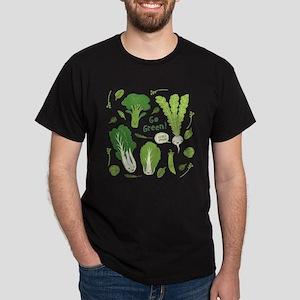 Go Green! (Leafy Green!) T-Shirt T-Shirt T-Shirt T