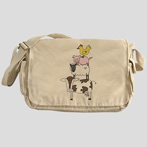 Farm Pyramid Messenger Bag