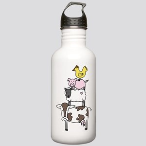 Farm Pyramid Stainless Water Bottle 1.0L