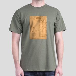 Oz Jack Pumpkinhead and Tip Dark T-Shirt
