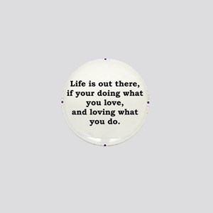 Life Is Out There - Anonymous Mini Button