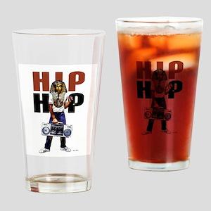 Hip Hop Pharoah Drinking Glass