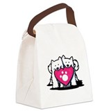 Samoyeds Canvas Lunch Bag