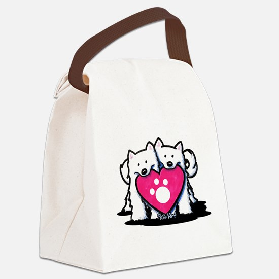 Valentine Duo Canvas Lunch Bag