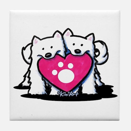 Valentine Duo Tile Coaster