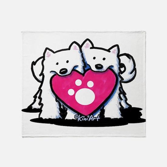 Valentine Duo Throw Blanket