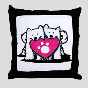 Valentine Duo Throw Pillow