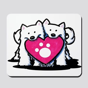 Valentine Duo Mousepad