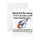 Shoot The Moon Greeting Cards (Pk of 20)